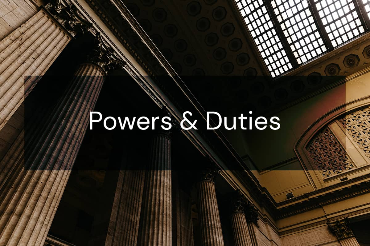 powers and duties, attorney general powers