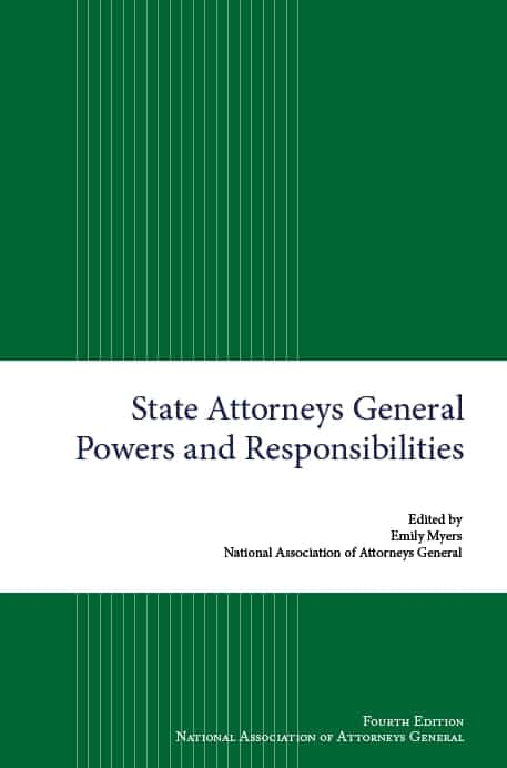 State AG Powers and Responsibilities cover