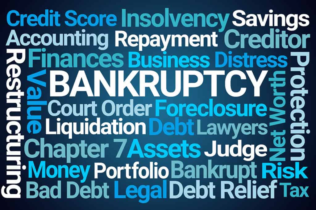 Bankruptcy word picture