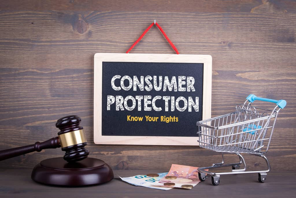 Consumer Protection sign, know your rights, consumerresources.org
