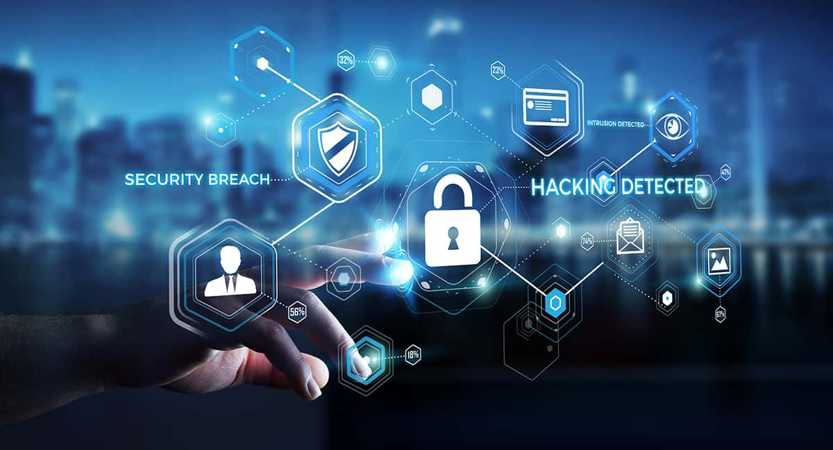 Hacking detected graphic, technology graphics, Ethical Duty of Technology Competence: